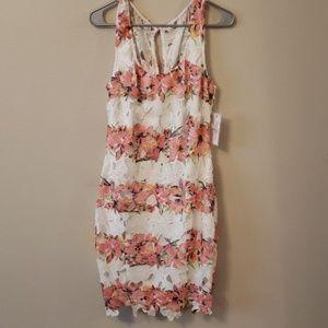 Size 10 Bisou Bisou floral summer dress nwt
